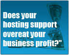 Does your hosting suport overeat your profit?